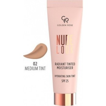 Nude Look Radiant Tinted Moisturiser 02 Golden Rose