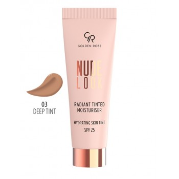 Nude Look Radiant Tinted Moisturiser 03 Golden Rose