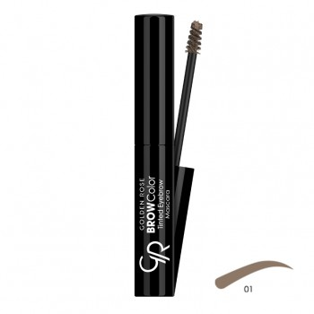 Brow Color Tinted Eyebrow 01 Mascara Golden Rose