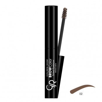 Brow Color Tinted Eyebrow 02 Mascara Golden Rose