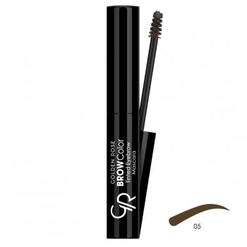 Brow Color Tinted Eyebrow 05 Mascara Golden Rose