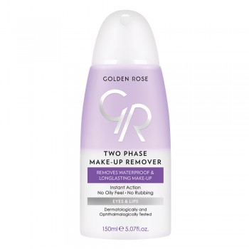 Two Phase Make-up Remover - Ντεμακιγιαζ Δυο Φασεων Golden Rose