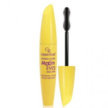 Defined Lashes Maxim Eyes Mascara Golden Rose